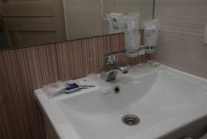ванная комната в номере Люкс